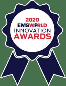 EMS-world-2020-innovation-award-ribbon-Center-White