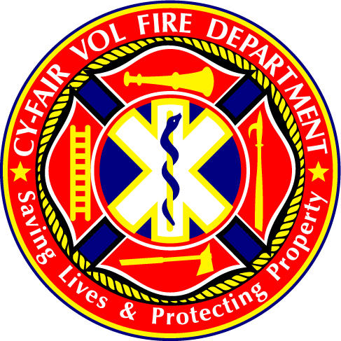 Cy-Fair Volunteer Fire Department Logo
